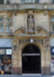 North Bridge Arcade.Edinburgh