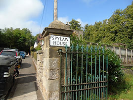 Spylaw House Colinton Village Edinburgh Sign