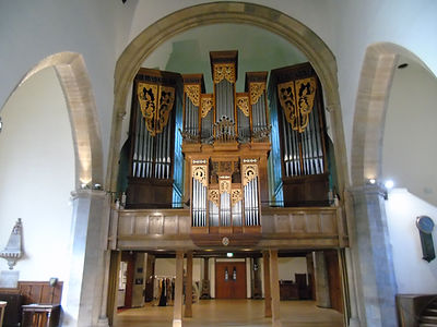 Greyfriar Kirk Organ by Peter Collins