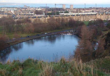 St Margaret's Loch Arthur Seat Edinburgh