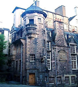 royal mile lawnmarket lady stair's house