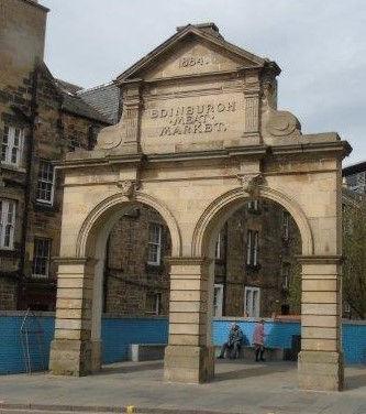 Edinburgh Meat Market Arch. Fountainbrid