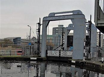 Leamington Lift Bridge over Union Canal.