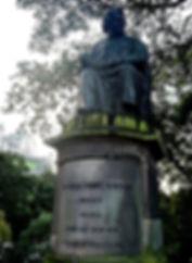James Young Simpson Statue Princes Street Doctor Inventor Edinburgh