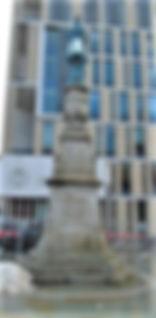 Bristo Square McEwan Lantern in the pursuit of Knowledge