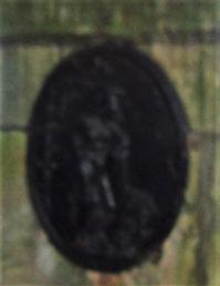 Gate Post Medallion Penkaet Castle East
