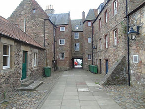 Mitchell's Close Haddington East Lothian