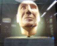 Robert the Bruce. Death Mask Scottish National Portrait Gallery