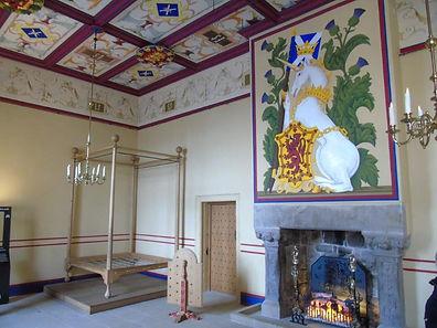 King's Bedchamber. Stirling Castle Royal