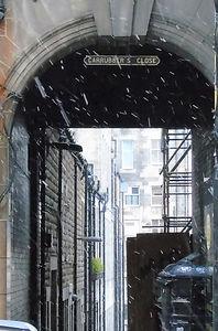 Carruber's Close High Street Royal Mile