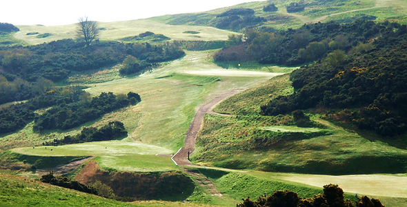 Braid Hills Golf Course where Thomas Armour Played golf