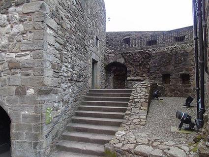 Stirling Castle North Gate Kitchen steps