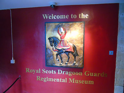 Royal Scots Dragoons Museum Plaque _ Edi