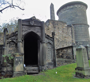 Robert Burn Tomb Old Calton Burial Groun