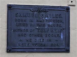 Samuel Smiles Plaque Haddington East Lot