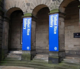 Talbot Rice Gallery Old College University of Edinburgh South Bridge Edinburgh