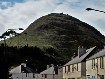 Berwick Law North Berwick East Lothian