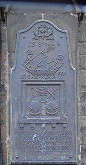 Armada Stone Newhaven Leith Edinburgh
