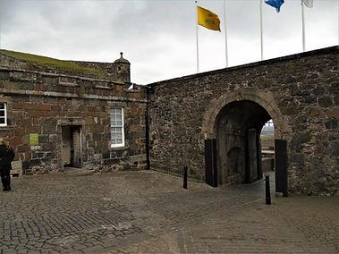 Stirling Castle Gaurd House Main Entranc