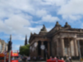 The Royal Academy of Art Princes Street Edinburgh
