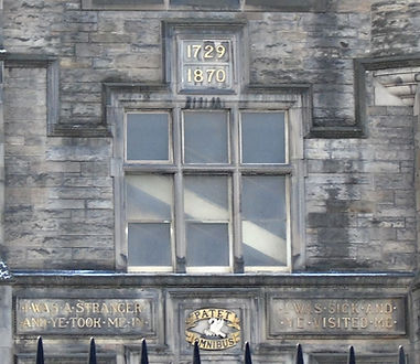 Royal Infirmary Bulding Lauriston Place