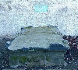 David Rizzio's Grave,Canongate Kirk Edin