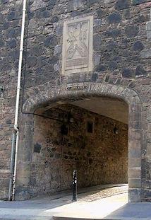 St John's Pend Canongate Royal Mile Edinburgh
