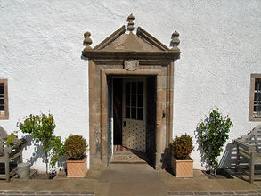 Northfield House main Door Prestonpans E
