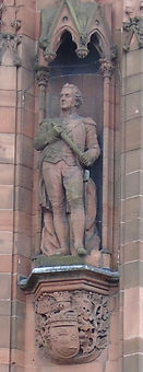 statue of 1st viscount duncan scottish national portrait gallery queen street edinburgh