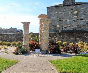 Code Pillars Portobello Beach Edinburgh