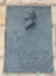 Robert Louis Stevenson Primary School 1857 Plaque
