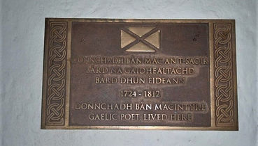MacIntyre Plaque Roxburgh Close High Str
