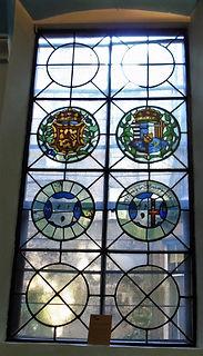 Stain  Glass Window Magdalen Chapel (2).