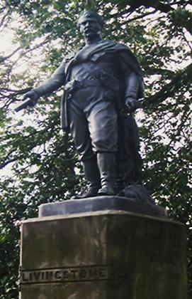 David Livingstone Statue east princes Street Gardens Allaboutedinburgh Princes Street Edinburgh