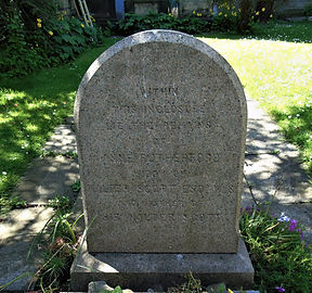 Anne Rutherford  Headstone Sir Walter Sc