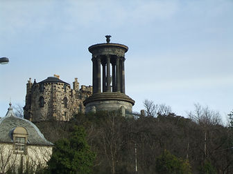 Dugald Stewart Memorial Calton Hill Edinburgh