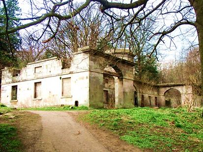 Cammo Stables Ruins @ Cammo Estate Edinburgh
