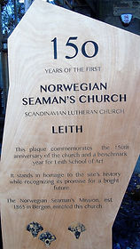 Norwegian Seaman's Church Stone Leith Ed