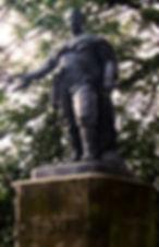David Livingstone Arican Explorer Statue Princes Street Edinburgh