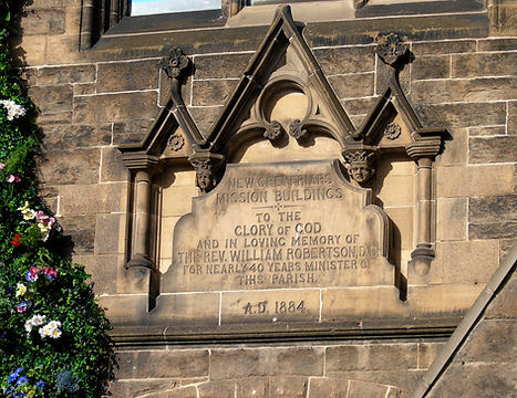 Church Memorial Tablet Grassmarket Edinburgh