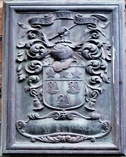 Paterson Coat Of Arms Golfers' Land Canongate Edinburgh