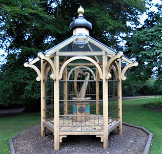 Aeolian Harp Pavilion RBGE Botanic Gardens Edinburgh