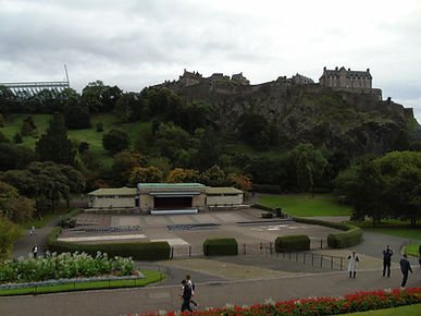 Ross Bandstand. West Princes Street Gardens