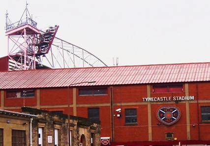 Tynecastle Football Stadium Edinburgh