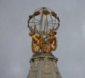 Forsyth armillary sphere princes street edinburgh