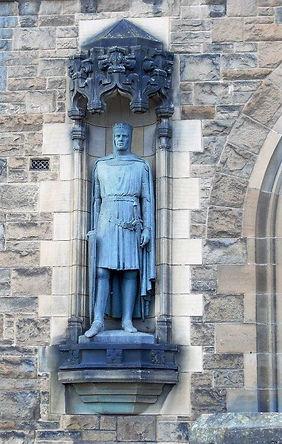 Edinburgh Castle Esplanade Robert the Bruce Statue