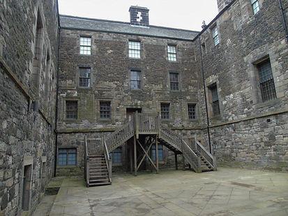 Stirling Castle Lion's Den home to the k