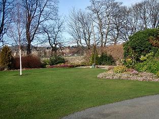 Walled Garden and Commemrative Tree Saughton Rose Garden Edinburgh
