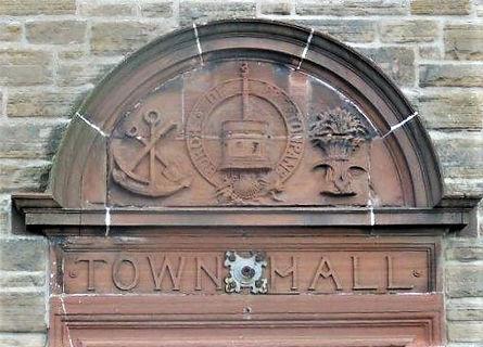 Town Hall Lintel Prestonpans East Lothia