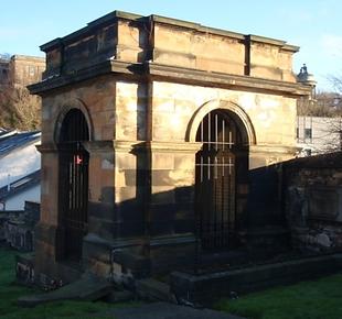 William Fettes Grave Canongate Kirk Edin